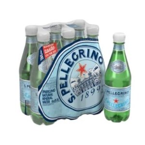 S.Pellegrino® Sparkling Natural Mineral Water, 16.9 Oz, Case of 6 Bottles