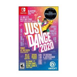 《舞力全开2020》Nintendo Switch 实体版 宅家必备游戏