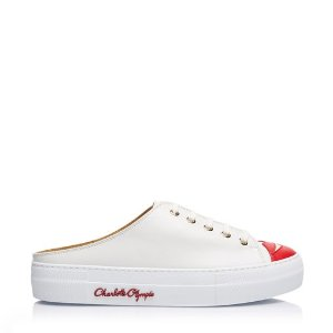 Charlotte OlympiaDesigner and Luxury Sneakers for Women |- KISS ME SNEAKER MULES