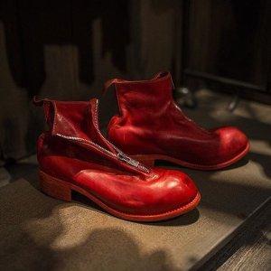 正价8.5折 经典款也参加Guidi 鞋子热卖 款式齐全 女神男神都爱的暗黑靴