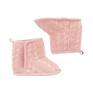 Carter's买两双6折,三双5折,可混搭婴儿软底保暖靴