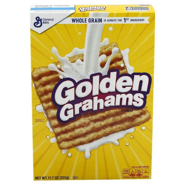 Golden Grahams 麦片 11.7OZ