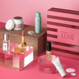 $25(价值$96) 相当于2.6折全员开抢:Sephora LUXE 超值套装开抢 含CR玫瑰清洁膏 祖玛珑香水