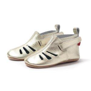 Zutano买1件第2件半价皮质凉鞋
