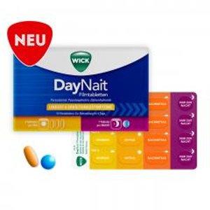 16片仅需€10.59(原价€14.49)WICK DayNait 日夜感冒片 4天疗程 缓解头疼发烧、流涕等症状