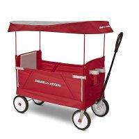 3-合-1 EZ 可折叠儿童拖车,带遮阳篷