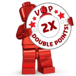 久违的变相9折回归LEGO®官网 VIP会员购物享2倍积分