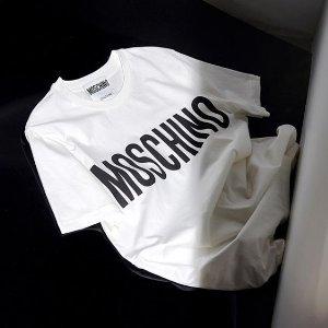5折清仓 封面款$105 卡包$137上新:Moschino 男士潮服特卖 印花衬衫$160