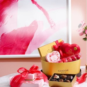 Buy One Get One 50% OffSelect Valentine's Day Gifts @ Godiva