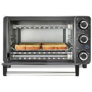 $19Bella 4-Slice Toaster Oven