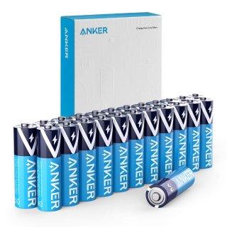 AA 5号 $8.47 AAA 7号 $5.84Anker 长效防漏碱性电池 24枚装 两种型号可选