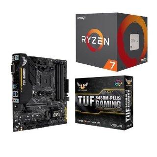$228.98 送3个月XGP+游戏二选一AMD RYZEN 7 2700 + ASUS TUF B450M-PLUS GAMING