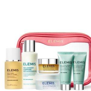 变相4.3折起 $115.8收封面款史低价:ELEMIS 护肤套装折上折 收骨胶原面霜、卸妆膏