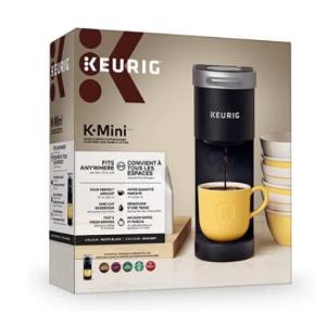 $58(原价$89.99) 黑色好价Keurig K-Mini 胶囊咖啡机 用温暖香醇开启新一天