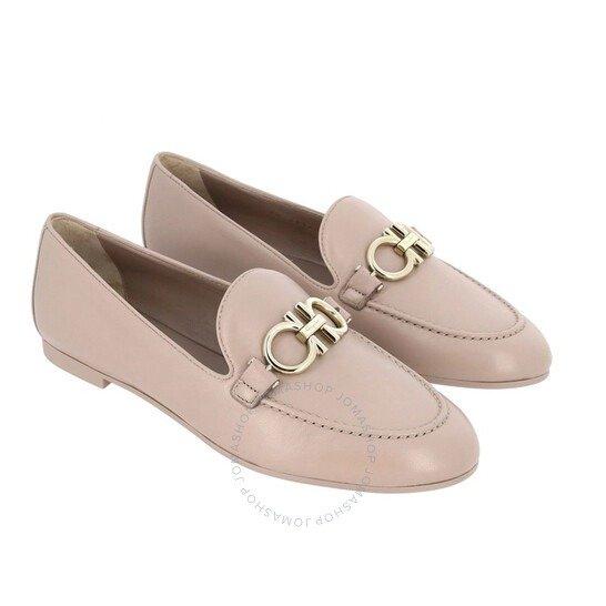Gancini粉色平底鞋