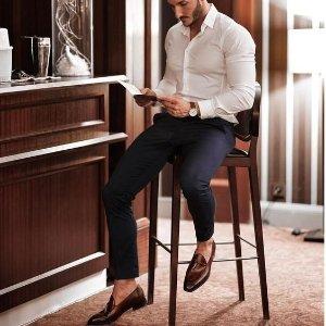 $34.81起 (原价$125)Clarks Tilden 男士牛津皮鞋 英伦百年品牌 绅士之选