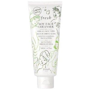 FreshSoy Makeup Removing Face Wash