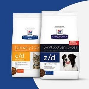 Extra 15% off AutoshipHill's Pet Prescription Diet on Sale