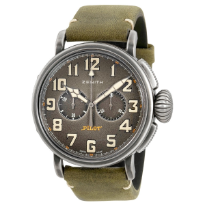 Extra $700 OffZENITH Heritage Pilot Type 20 Automatic Men's Watch
