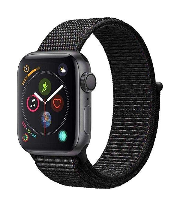 Watch Series4 (GPS, 40mm) 铝合金 + 回环式运动表带