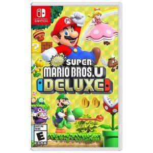 Nintendo新超马 switch 实体版
