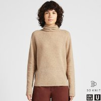 Uniqlo U系列 3D针织羊毛毛衣