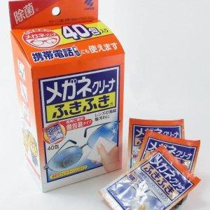 凑单必备 $6收40片日亚史低价:小林制药 眼镜清洁布 快速去污除菌 手机屏幕清洁