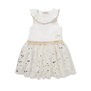 Juicy Couture(Toddler Girls) Ruffle Neck Tutu Dress