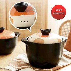 耐高温养生搪瓷煲 2.2L