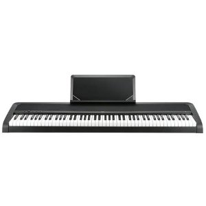 Korg B1 88 Key Digital Piano with Enhanced Speaker System & Hammer Action - Black