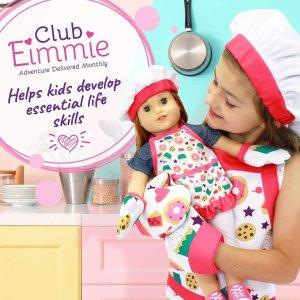 立减$5Club Eimmie Doll 娃娃订阅优惠 圆每个小女孩的娃娃梦