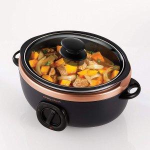 现价£30(原价£39.99)Morphy Richards 慢煮锅闪促 一锅两用功能强大