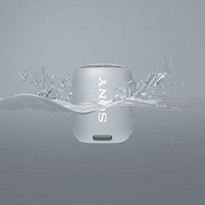 Sony银色SRS-XB12 蓝牙音箱 银色