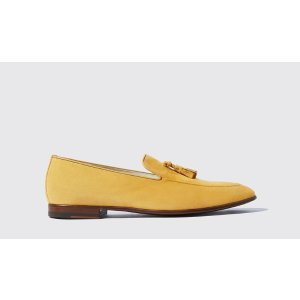 Men's Yellow Loafers - Flavio | Scarosso