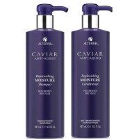 Alterna Caviar  鱼子酱抗龄修复滋润洗发露护发素套装 488mlX2