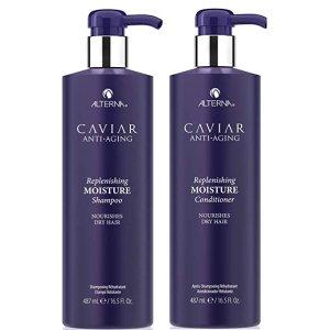 Caviar  鱼子酱抗龄修复滋润洗发露护发素套装 488mlX2