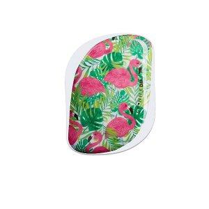 Prime会员¥88到手Tangle Angel + SkinnyDip合作款梳美发梳  属于夏天的火烈鸟