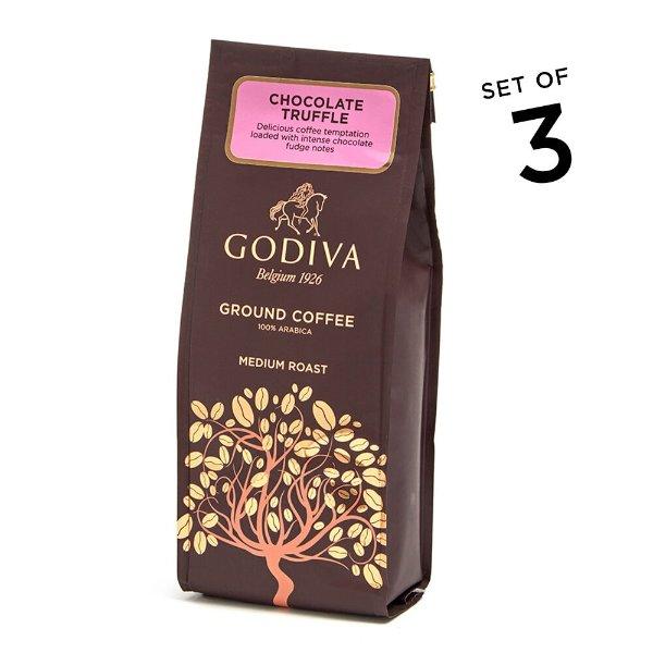 巧克力松露咖啡粉10oz 3包