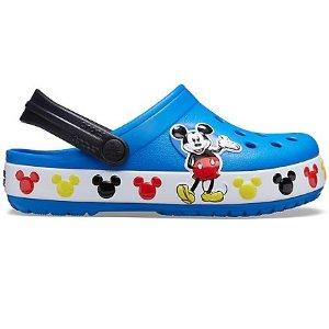 Crocs大童码全可爱米奇儿童洞洞鞋