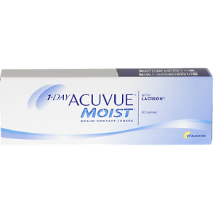 Acuvue1-Day Moist 30pk Contact Lenses