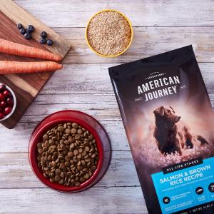 买2包立减$35American Journey 高蛋白质狗粮大促销