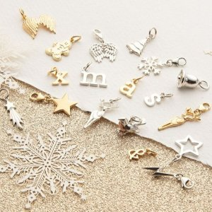 低至4折 鹿角项链仅£13比黑五低:Lily Charmed 圣诞大促 收超美雪花、拼图、鹿角、许愿骨