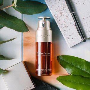 Dealmoon Exclusive! FREE 4-Piece Skincare Routine Giftwith any Double Serum purchase @ Clarins