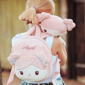 低至8.8折 €14.99收封面同款Gloveleya 软萌ins风娃娃背包 娃娃可拆卸 马卡龙色可爱到犯规