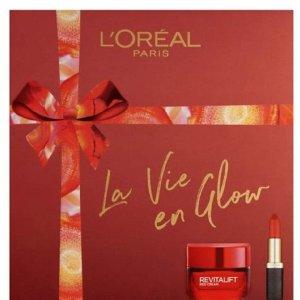 超多礼盒上线£15起L'Oreal 开架彩妆热销 收K妹粉底液、OMG小钢笔
