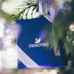 低至2.3折+额外8折+包邮免税独家:Swarovski 首饰专场热卖,小螃蟹星星耳钉$23.99