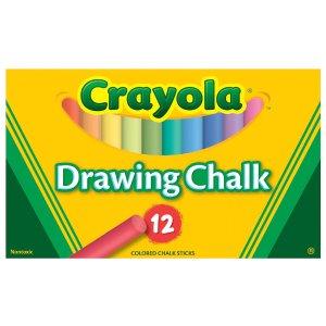 Crayola粉笔,12色