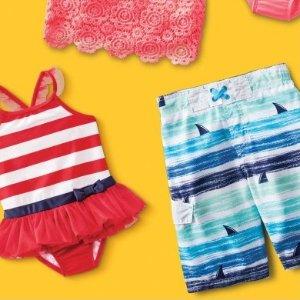 $8起Target 儿童泳衣促销 超高性价比