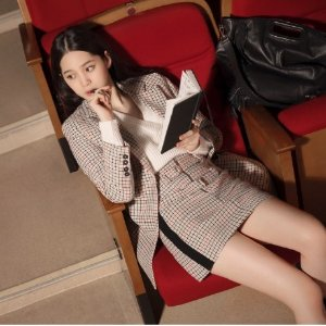 低至7折+额外7.5折 收欧阳娜娜同款最后一天:Maje官网 精选上衣热卖
