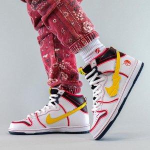 """定价$145 9月24日发售预告:Nike SB Dunk High """"高达"""" 配色 Snkrs已上架"""